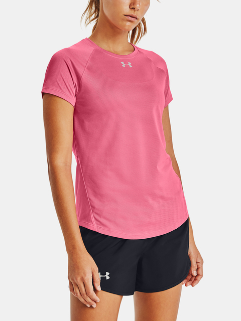 Tričko Under Armour Q lifier  Short Sleeve-PNK