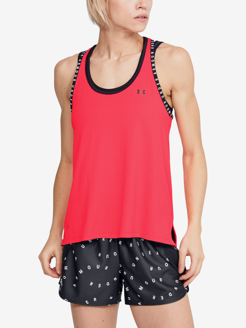 Tílko Under Armour Knockout Tank-RED