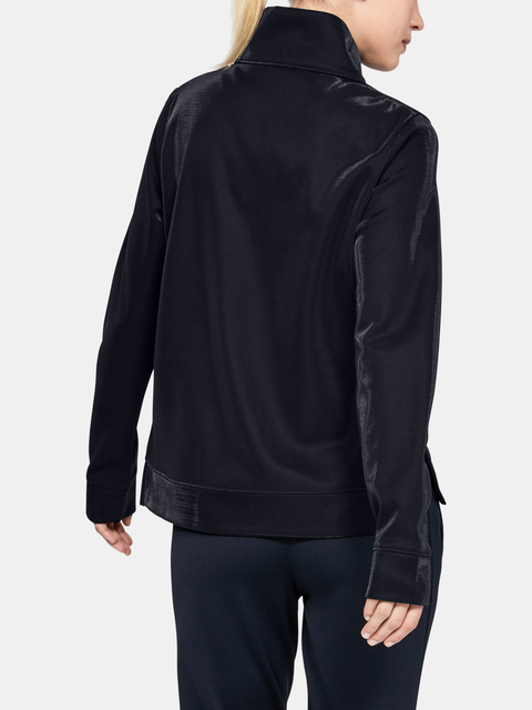 Mikina Under Armour SYNTHETIC FLEECE MOCK MIRAGE-BLK