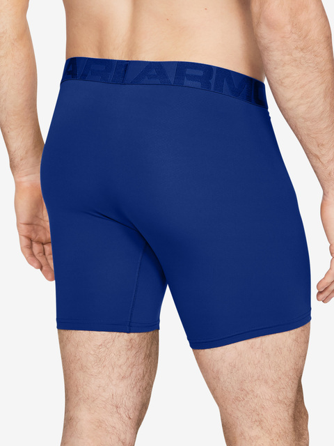 Boxerky Under Armour Tech Mesh 6in 2 Pack-BLU