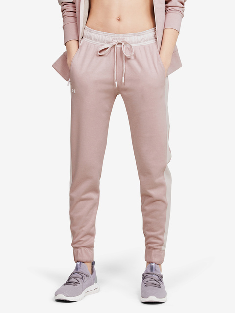 Tepláky Under Armour Recover Knit Pants-PNK