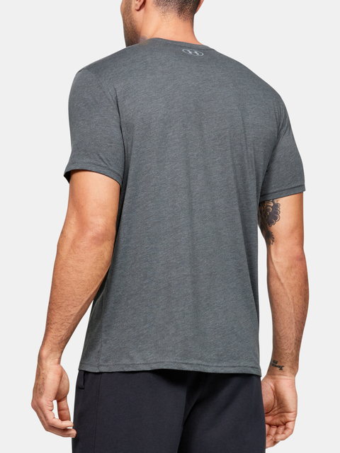 Tričko Under Armour Left Chest Lockup Tee-GRY