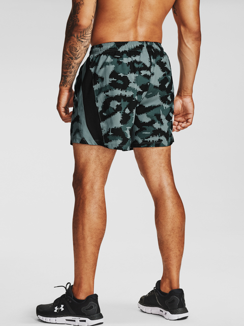 Kraťasy Under Armour UA Launch SW 5'' Camo Short