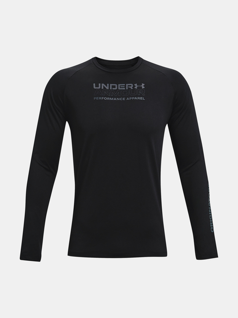 Tričko Under Armour TECH 2.0 ORIG OF PERF LS-BLK
