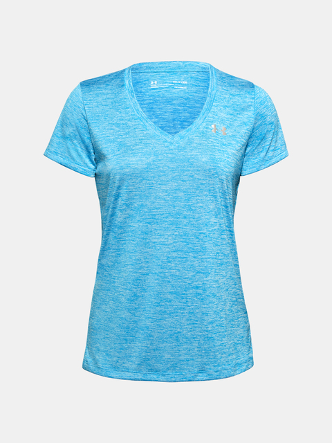 Tričko Under Armour Tech SSV - Twist-BLU