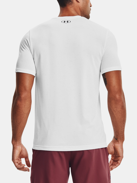 Tričko Under Armour Seamless SS-WHT