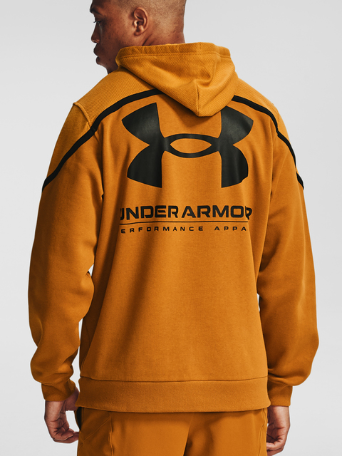 Mikina Under Armour Rival Fleece AMP HD-YLW