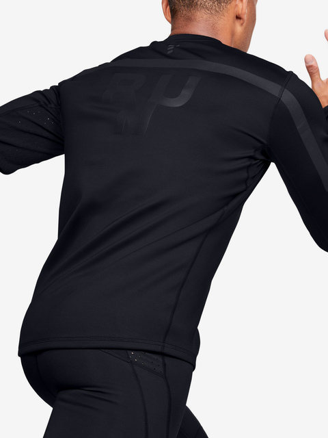 Tričko Under Armour Qualifier Coldgear Longsleeve-Blk
