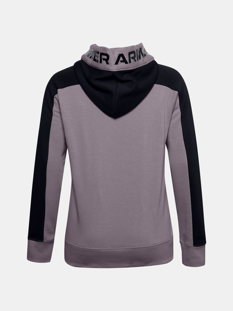 Mikina Under Armour Rival Flece Grphic CB Hoodie-PPL