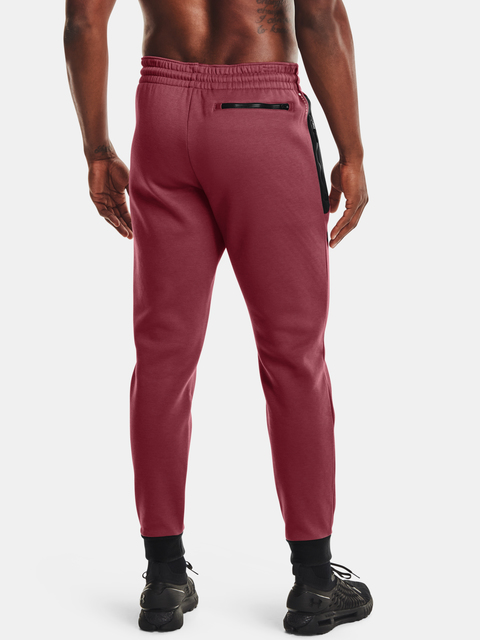 Kalhoty Under Armour UA Recover Fleece Pant-RED