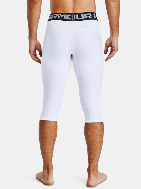 Legíny Under Armour BASELINE COMPR KNEE TIGHT-WHT