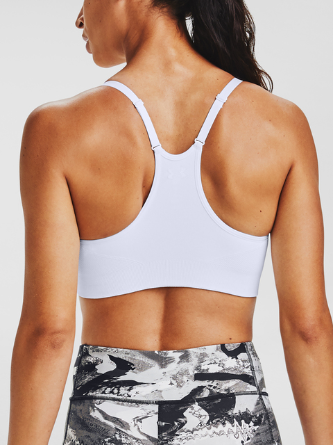 Podprsenka Under Armour Vanish Seamless Essentials-WHT