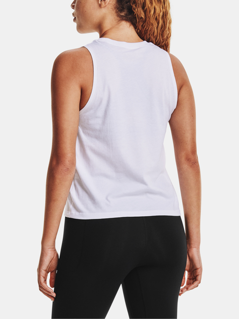 Tílko Under Armour Live UA Repeat Muscle Tank-WHT