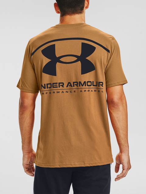 Tričko Under Armour PERFORMANCE BIG LOGO SS-YLW