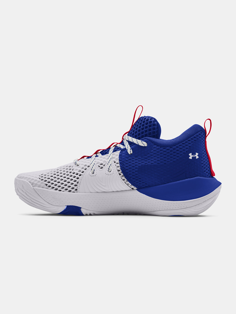 Boty Under Armour  Embiid 1-WHT