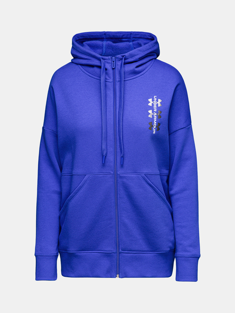 Mikina Under Armour Rival Fleece FZ Hoodie 12.1-BLU