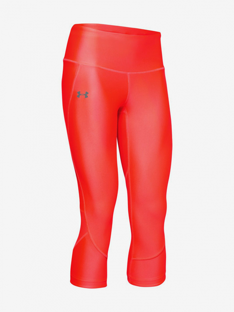 Legíny Under Armour Fly Fast Capri-RED