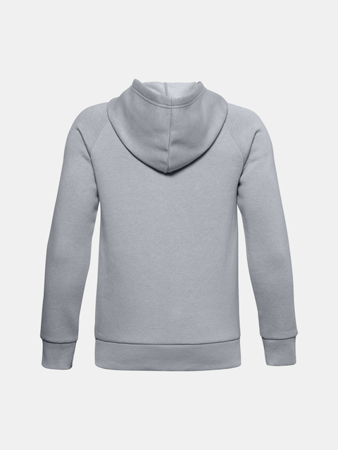 Mikina Under Armour UA RIVAL COTTON HOODIE-GRY