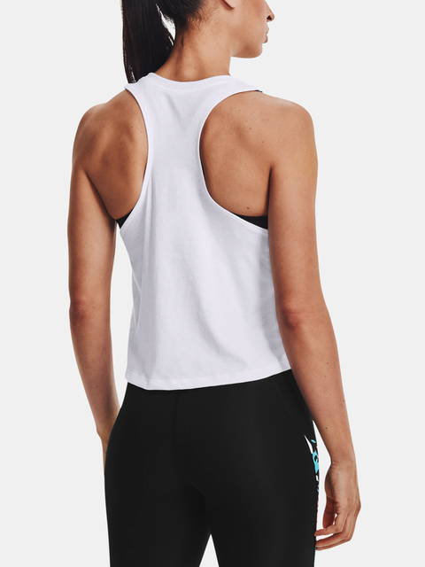 Tílko Under Armour RUN Floral Tank-WHT