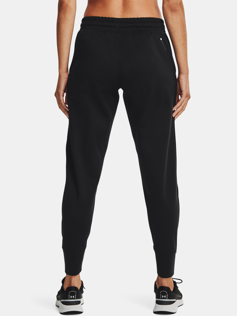 Tepláky Under Armour Recover Tricot Pant-BLK