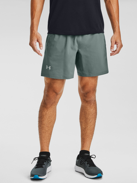 Kraťasy Under Armour UA LAUNCH SW 2-IN-1 SHORT-BLU