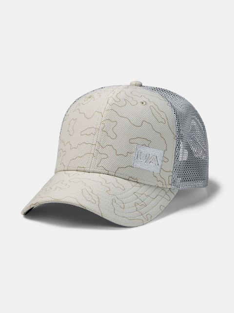 Kšiltovka Under Armour UA Men's Blitzing Trucker 3.0-WHT