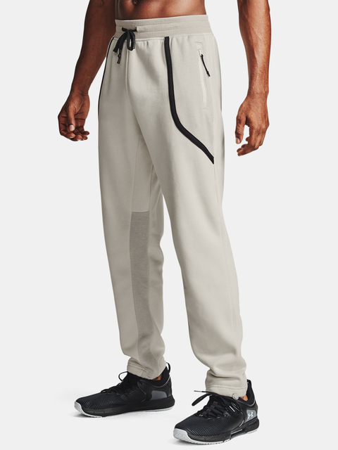 Kalhoty Under Armour Men's  Rival Flc AMP Pants