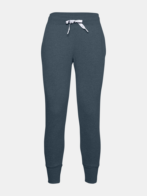 Kalhoty Under Armour UA Rival Fleece EMB Pant-BLU
