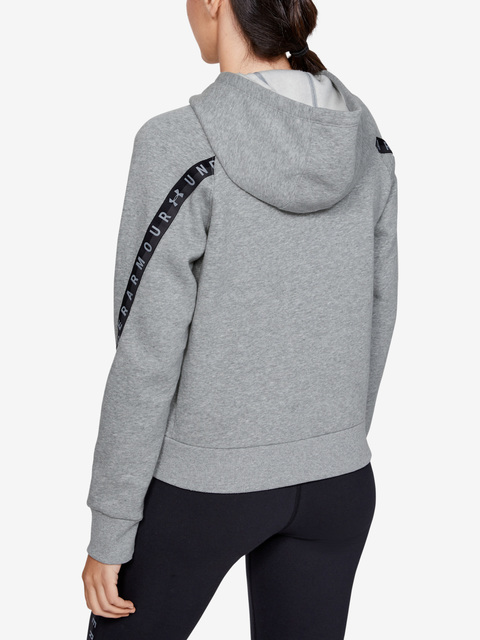 Mikina Under Armour Fleece Taped Wm Fz Hoodie