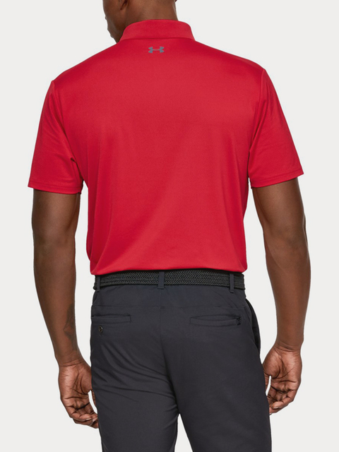 Polo tričko Under Armour Crestable Performance Polo 2.0-RED