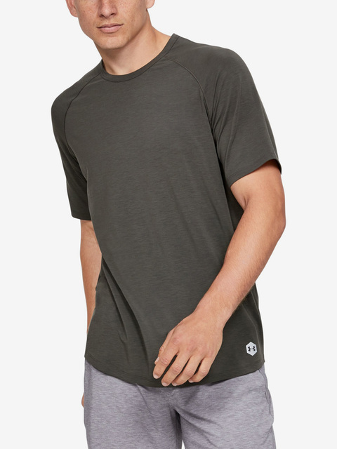 Tričko Under Armour Recovery Sleepwear Ss Crew-Brn
