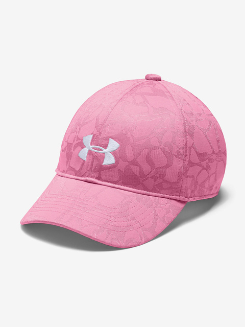 Kšiltovka Under Armour Girl's Play Up Cap-PNK