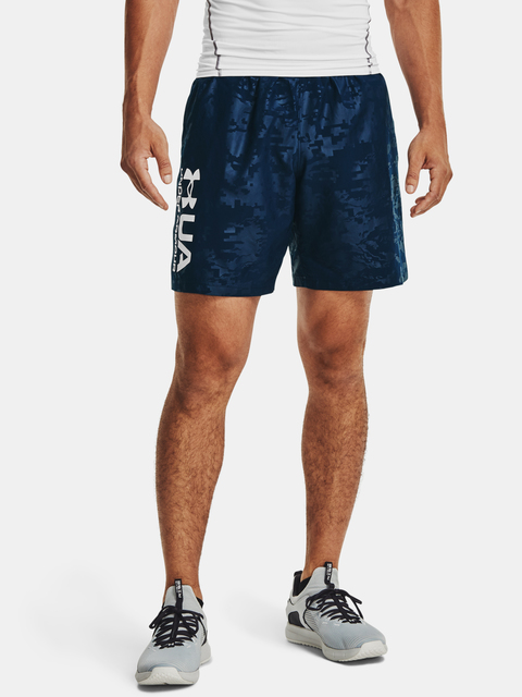 Kraťasy Under Armour UA Woven Emboss Shorts-NVY