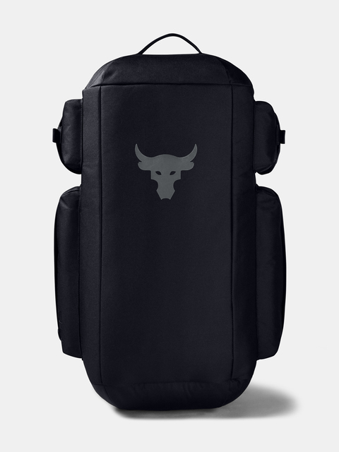 Taška Under Armour  Project Rock Duffle BP-BLK