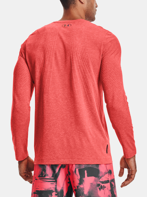 Tričko Under Armour Rush Seamless LS-RED
