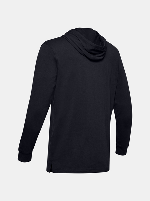 Mikina Under Armour UA Sportstyle Hoodie-BLK
