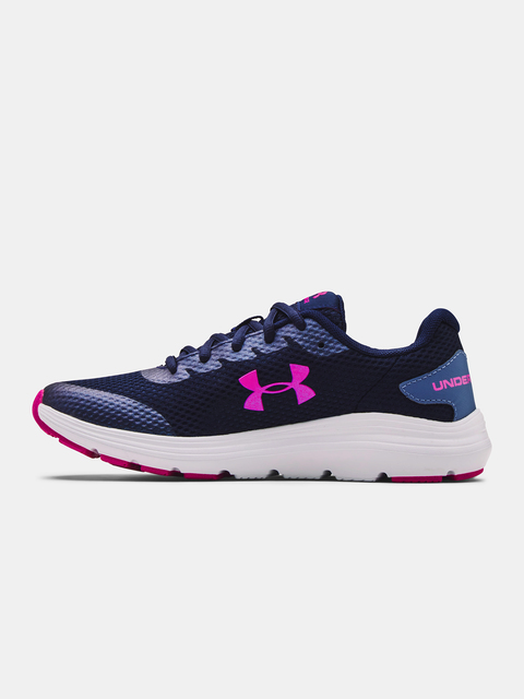 Boty Under Armour UA GS Surge 2-NVY