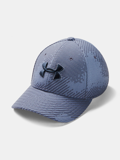 Kšiltovka Under Armour Boy's  Printed Blitzing-BLU