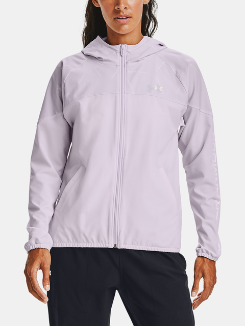 Bunda Under Armour Woven Printed  Hooded Jacket-PPL