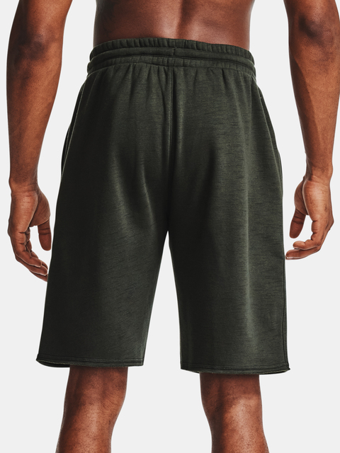 Kraťasy Under Armour PJT ROCK CC FLEECE SHORT-GRN