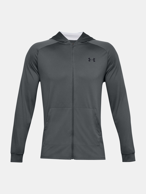 Mikina Under Armour UA TECH 2.0 FZ HOODIE-GRY