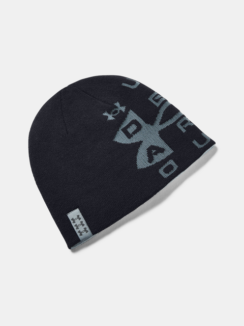 Čepice Under Armour Billboard Reversible Beanie-BLK