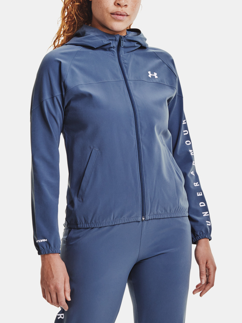 Bunda Under Armour Woven Hooded Jacket-BLU