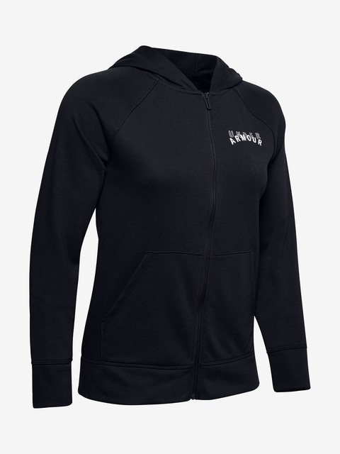 Tričko Under Armour Rival Terry Fz Hoodie