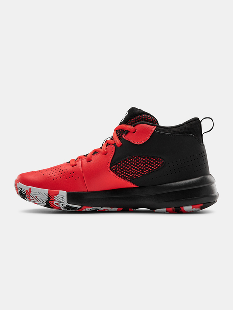 Boty Under Armour UA GS Lockdown 5-RED