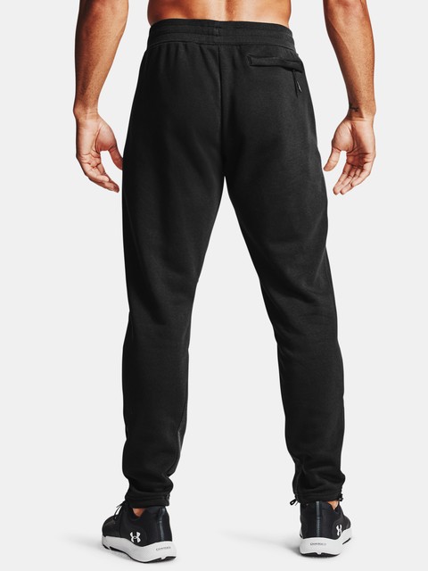 Kalhoty Under Armour Men's  Rival Flc AMP Pants-BLK