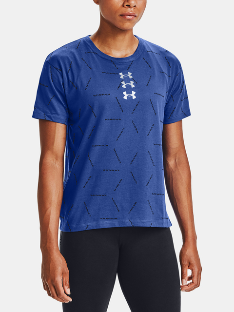 Tričko Under Armour Fashion Graphic SS AMP-BLU