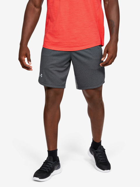Kraťasy Under Armour Knit Training Shorts-BLK