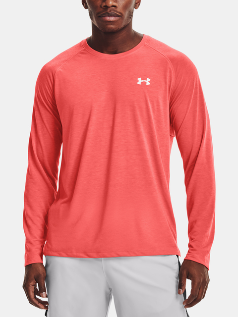 Tričko Under Armour Streaker LS-RED