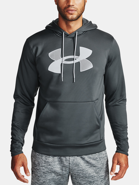 Mikina Under Armour Armour Fleece Big Logo HD-GRY